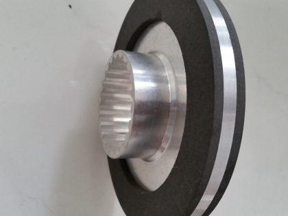 Brake disc three-knife trimmer