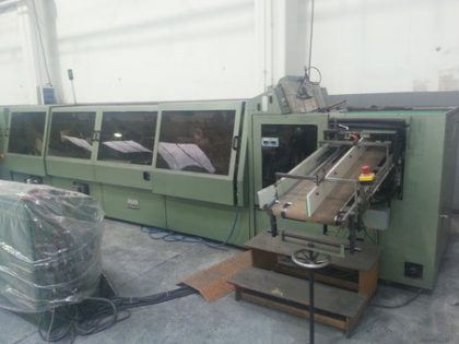 SU 640 Jacketing machine – Reduced!