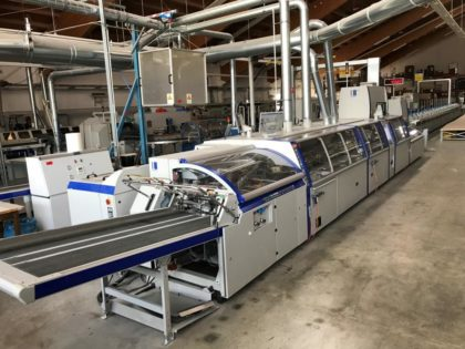 KM 600 Perfect Binding Line with PUR