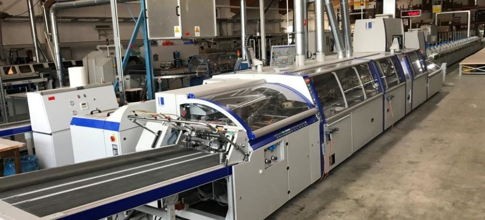 2011 Kolbus KM 600 Perfect Binding line sold!