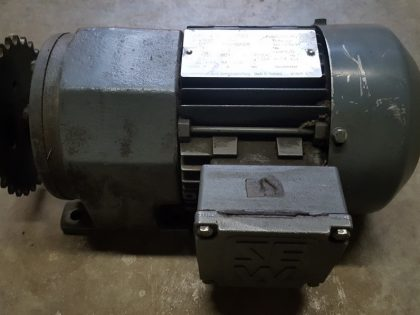 HD 140 infeed conveyor motor