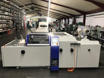 SW.M 400 Magnet inserting machine