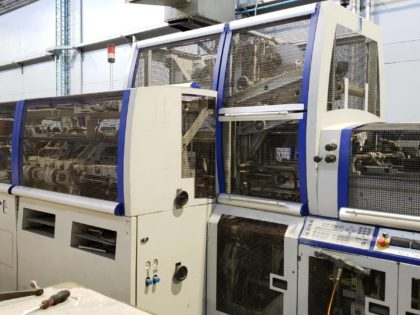 BF 511 Casing-in and Building-in Machine