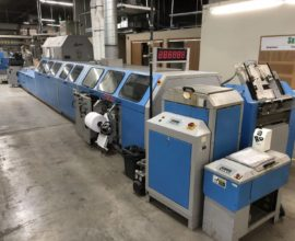 Acoro A7 Perfect Binding Line with Endsheet Feeder