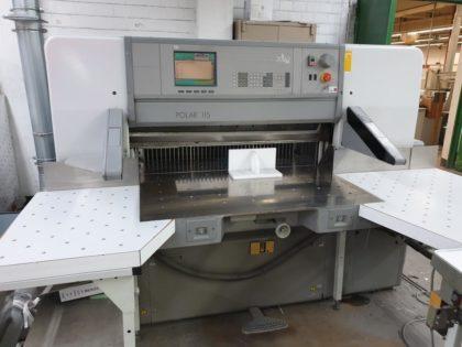 115 ED Guillotine Paper Cutter