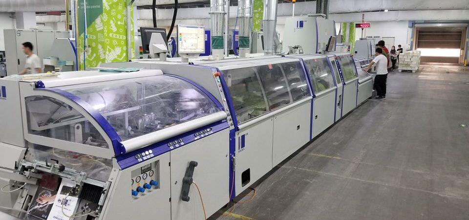 Kolbus KM 600 installation in Beijing