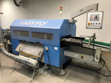 Easy Fly Front Edge Cutting Machine