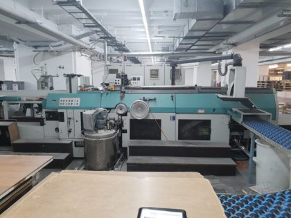 DA 232 Case-maker with inline board cutter