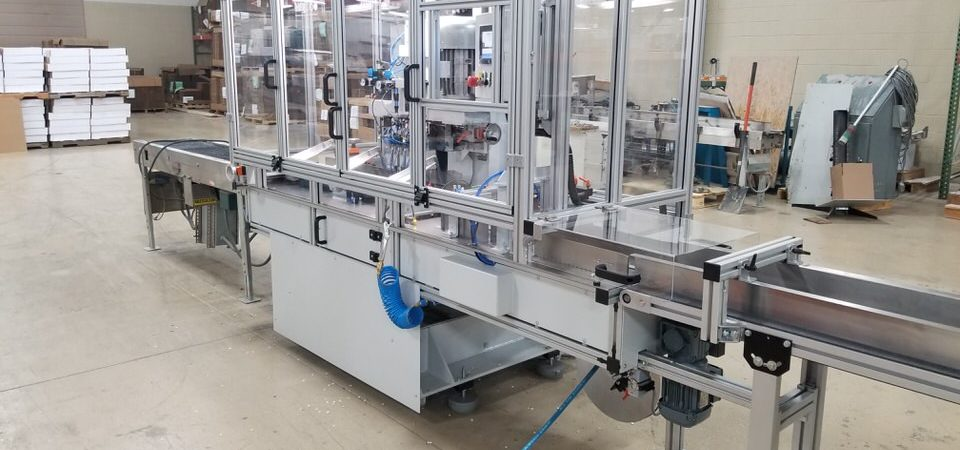 Next Hang 245-30 High Speed Inline Paper Drill delivered