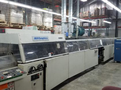 AM Graphics EB 250 Perfect Binding Line