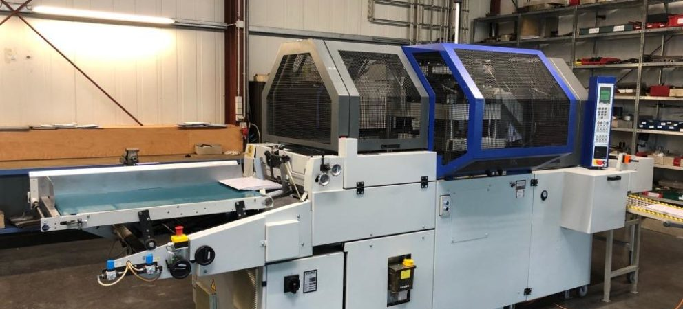 Kolbus PE 312 sold to Superior Packaging & Finishing