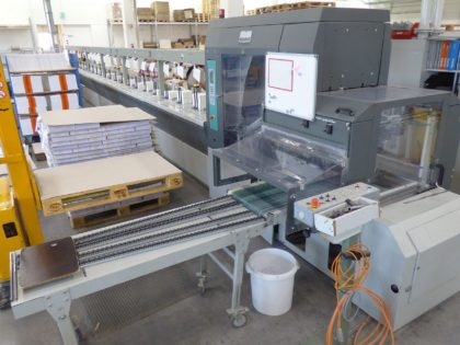 ZU 804 Gathering Machine