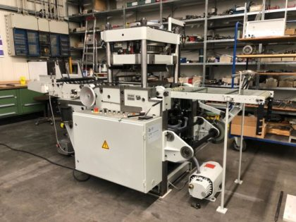 PE 311-High-Speed Foil and Embossing