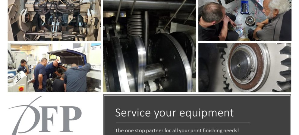 Service your equipment