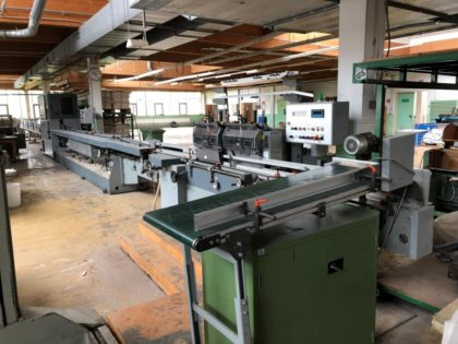 SB 6000 book block producing line