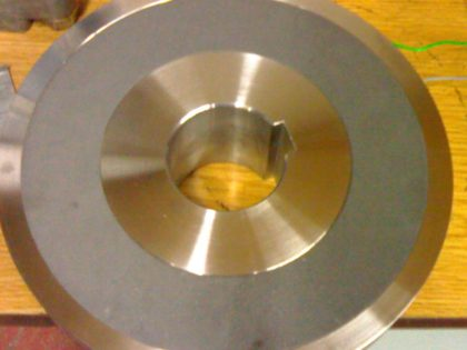 Coil for brake, main drive Three-knife trimmer