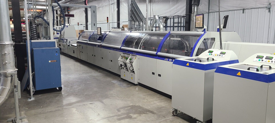 Completed Installation of Kolbus KM 473 binding line