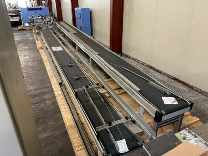 Conveyor system with reject